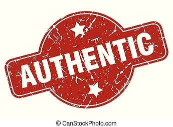 authentic vintage stamp. authentic sign