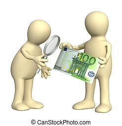 authentication, von, der, banknote
