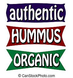 Authentictic hummus