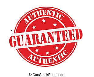 authentiek, guaranteed