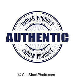 authentiek, postzegel