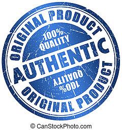 authentique, timbre