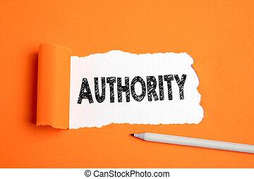 authority., 知識, お金, 上司, 影響, 政治, 概念