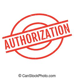 Authorization rubber stamp