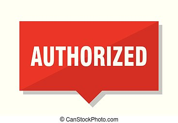 authorized red tag - authorized red square price tag