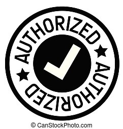 authorized rubber stamp