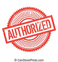 Authorized stamp