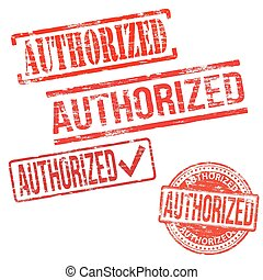 Authorized Stamps