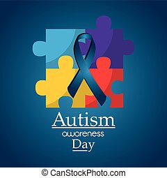 autism awareness day poster medical help