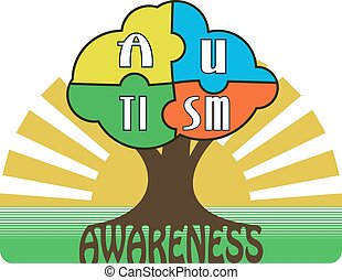 Autism Awareness T-shirt Typography Graphics, Vector...