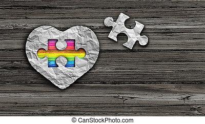 autism, conscience, jour