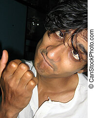 Autistic Guy - An Indian actor posed as an autistic guy