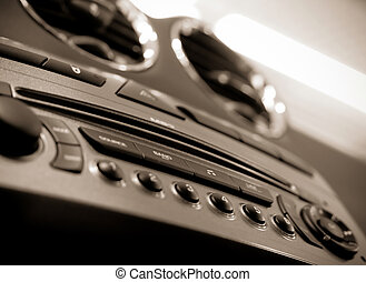 Auto audio dashboard