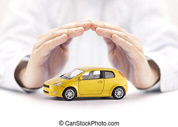 auto, begriff, versicherung
