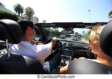 auto, bestuurder