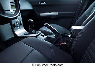 auto binnenkante, moderne