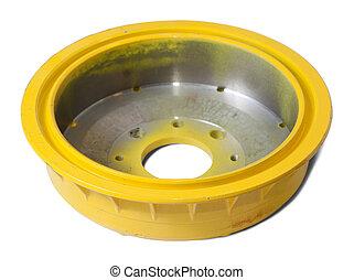 auto brake wheel