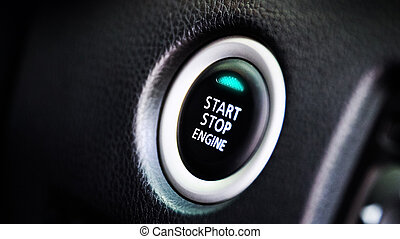 auto car engine start  button for keyless entry