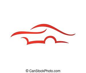 Auto Car Icon vector Logo Template