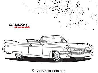 auto, classieke