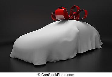 Auto concept of a new sports car - Auto concept of a new ...