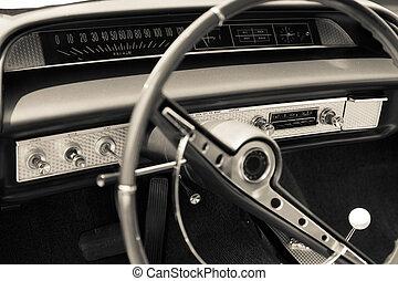 auto, dashboard, oud