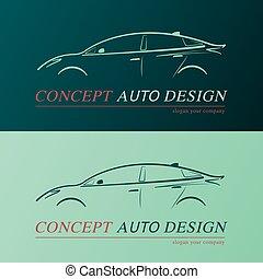 Auto design card