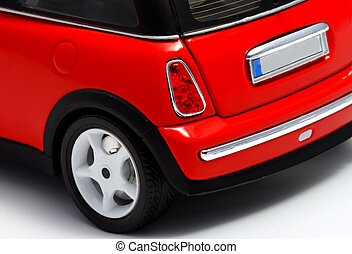 Modern design of a classic car