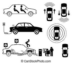 auto., driverless