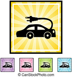 auto, elektrisch