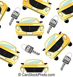 auto, en, klee, om te, hem
