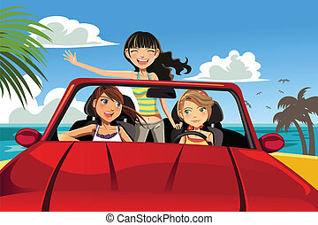 auto, friends