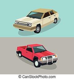 Auto garage car design