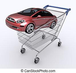 auto, geschenk