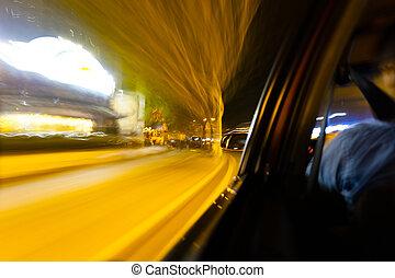 auto, geschwindigkeit
