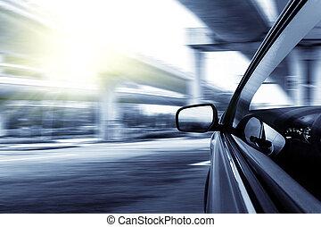 auto, geschwindigkeitsüberschreitung
