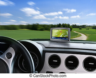 Auto gps navigator - Gps auto navigation when travelling on...