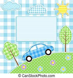 auto, hintergrund