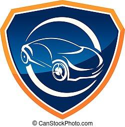 Auto Insurance Logo Design Template Vector