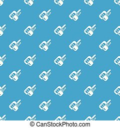 Auto key pattern vector seamless blue repeat for any use