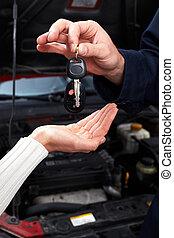 auto, keys.