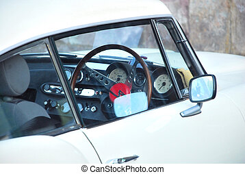 auto, klassischer sport