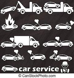 auto, lastwagen