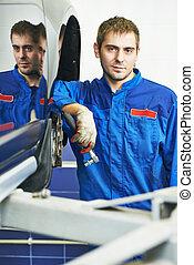 auto mechanic portrait