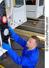 auto mechanic worker