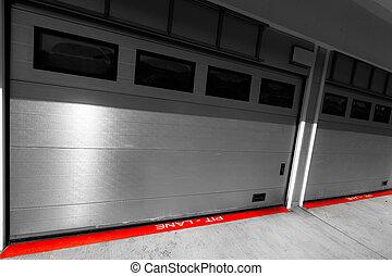 auto-motor speedway garage station