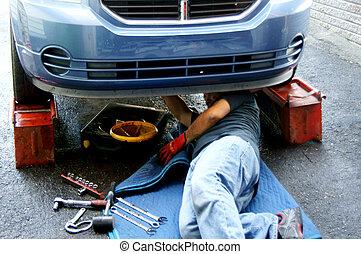 auto, onderhoud