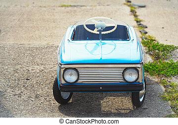 auto, oud, kinderen