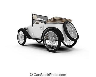 auto, oud, retro, fashioned