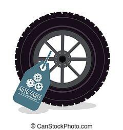 auto parts repair icon
